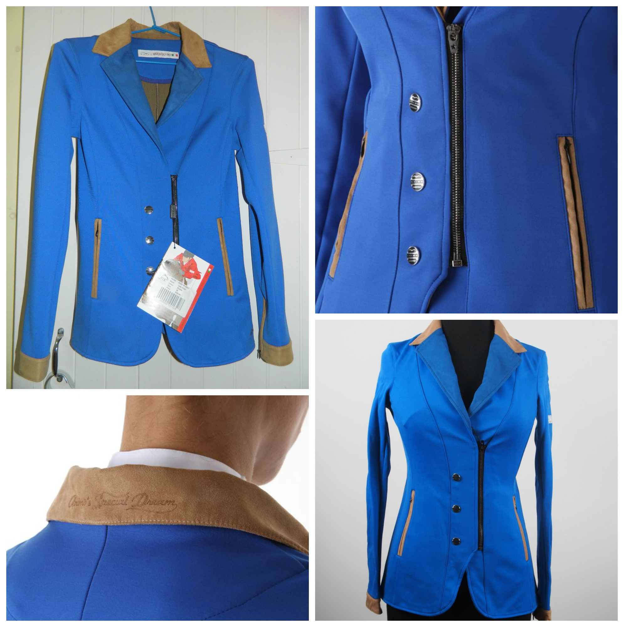 Brand New Animo Show Jacket | Saddles and TACK For Sale QLD ...