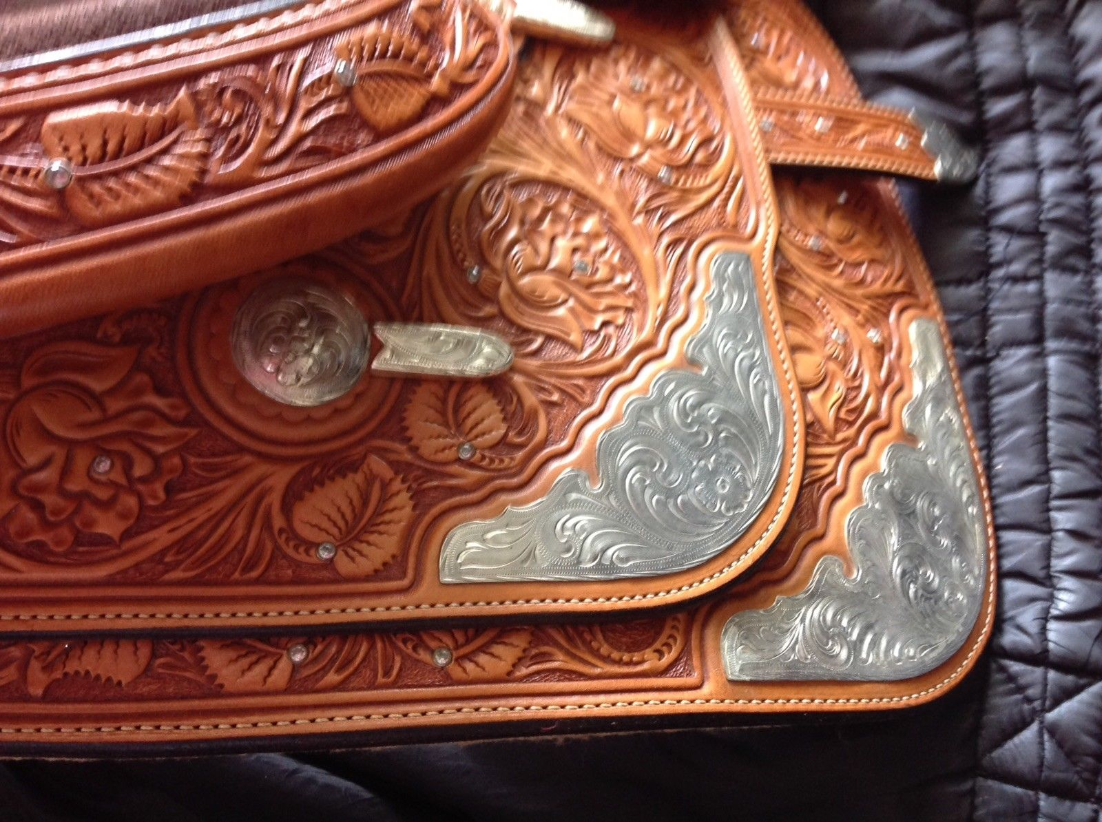 16 Western Saddle Handcrafted Eddie Powell